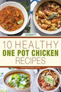 10 Healthy One Pot Chicken Recipes