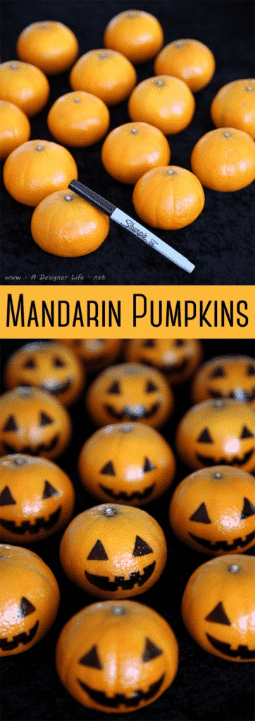 mandarin pumkpins