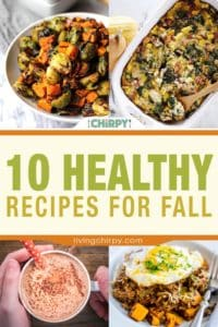 10 Healthy Recipes for Fall