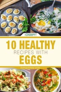 10 Healthy Recipes with Eggs