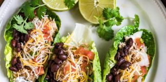 Low-Carb Shredded Chicken Tacos Thumbnail