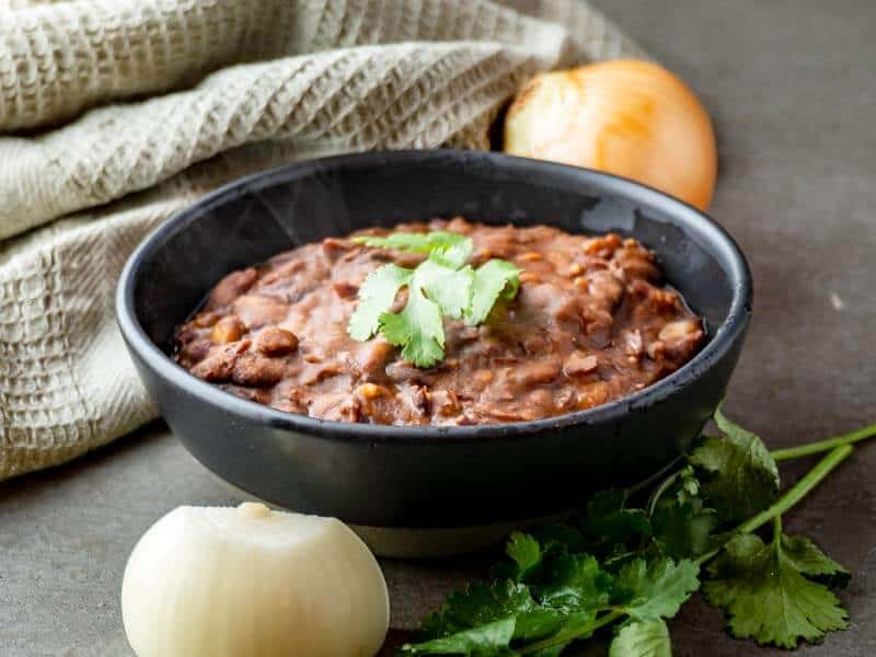 Easy Refried Kidney Beans
