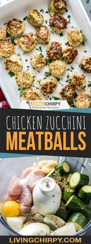 Chicken Zucchini Meatballs