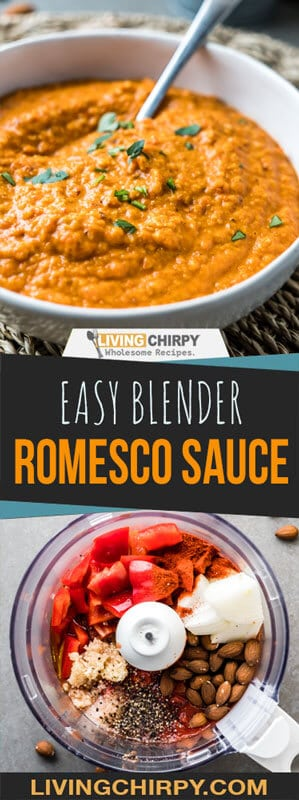 Easy Blender Romesco Sauce