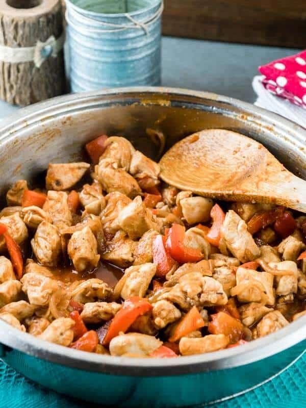 Easy Paprika Chicken Skillet