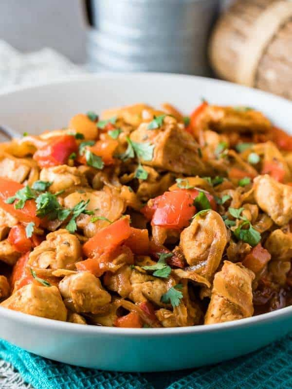Easy Paprika Chicken Skillet 6 Living Chirpy