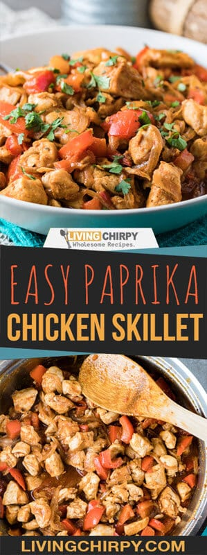 Easy Paprika Chicken Skillet