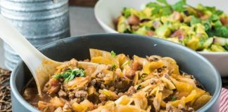 One Pot Amish Ground Beef and Cabbage Skillet