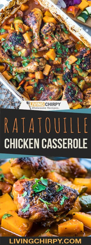 Ratatouille Chicken Casserole