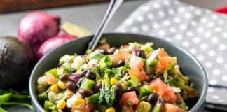 Easy Throw Together Chopped Mexican Salad