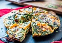 Sweet Potato and Sun-Dried Tomato Chicken Frittata