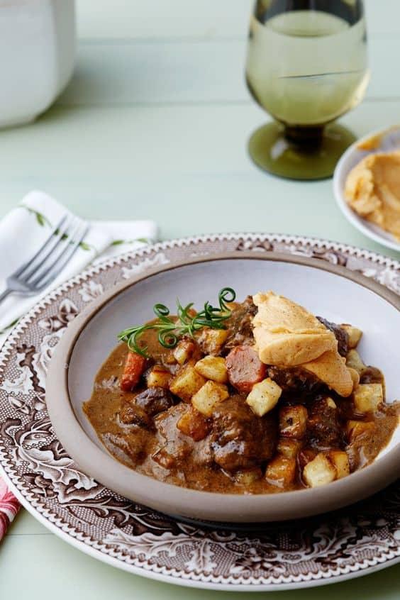 creamy keto venison stew