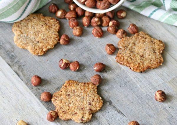 keto hazelnut cookies