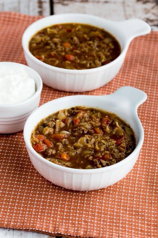 keto runza style soup