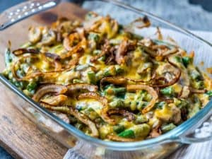 The Best Easy Low Carb Keto Green Bean Casserole