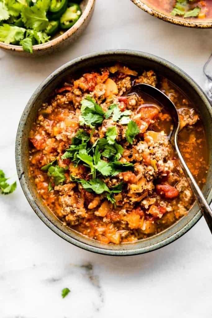 crockpot sweet potato chipotle chili