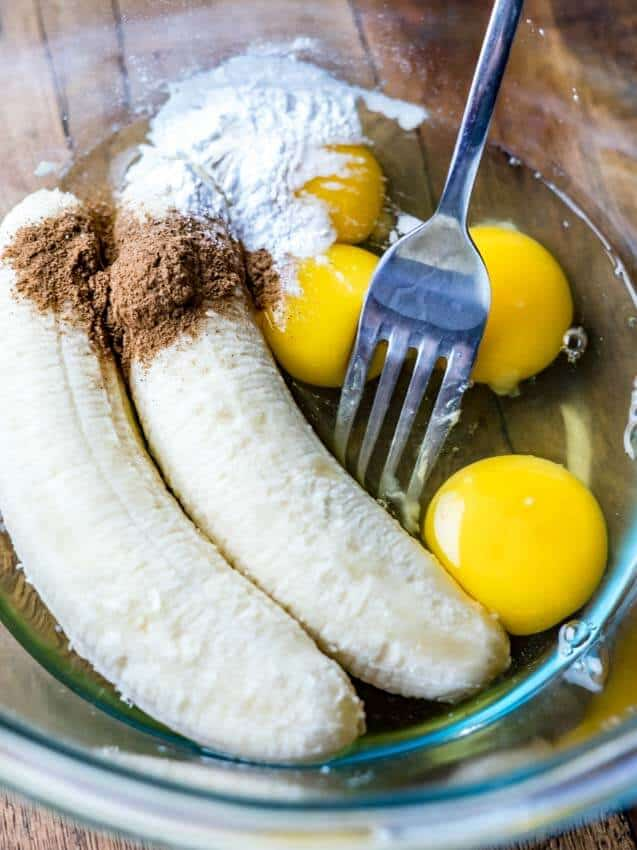 Easy 3 Ingredient Keto Banana Pancakes