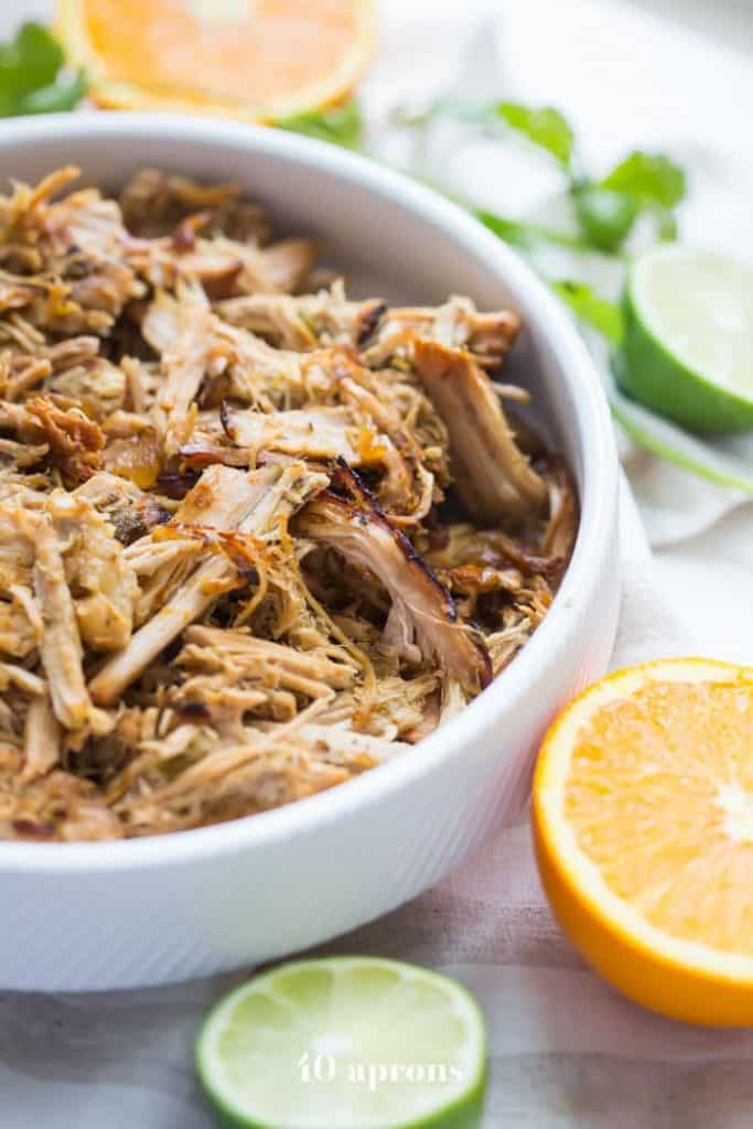 Crockpot Carnitas with Pork Tenderloin