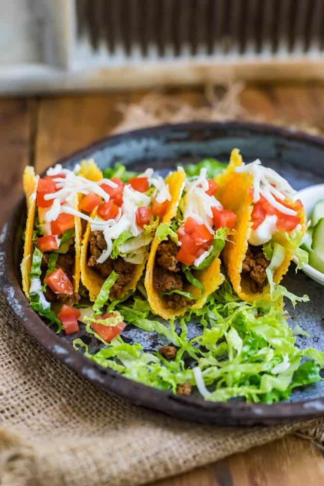 keto mini cheese tacos