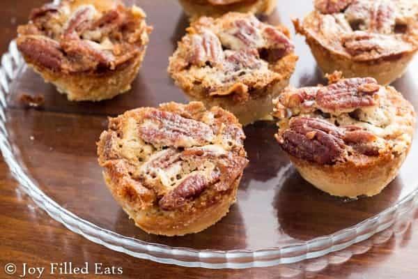 Keto Pecan Pie Tarts