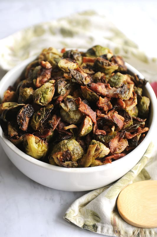 Low Carb Brussels Sprouts and Bacon