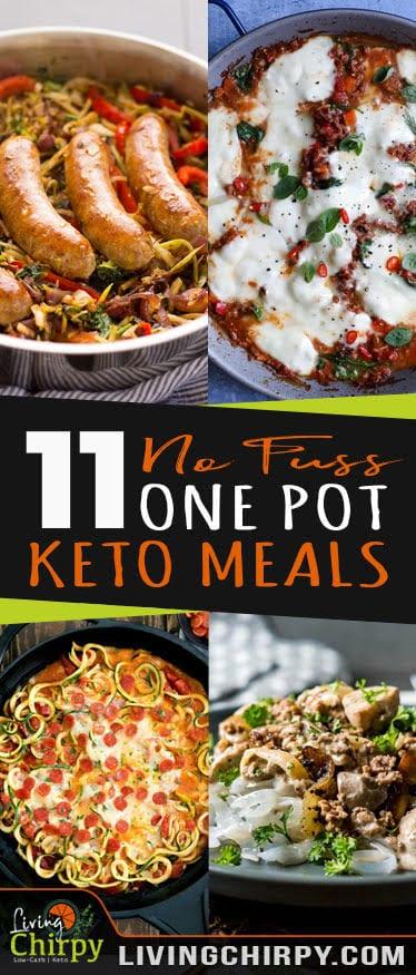 11 No Fuss Keto One Pot Meals Living Chirpy