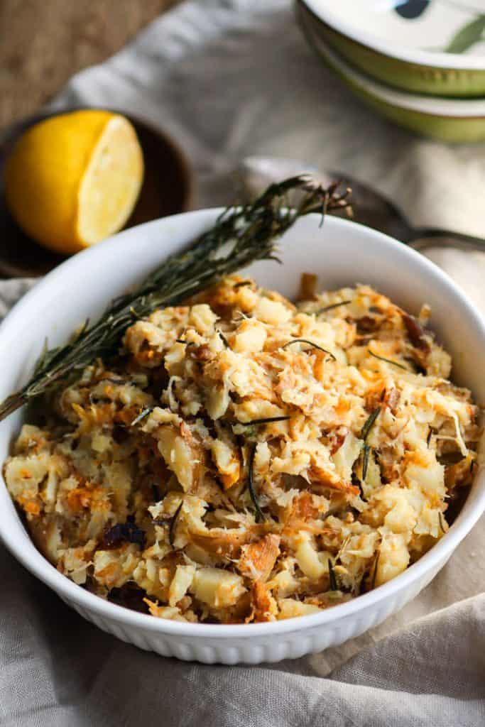 crock pot rosemary carrot parsnip mash