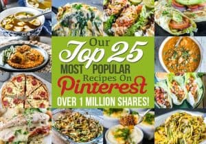 Top 25 Most Popular Pinterest Recipes