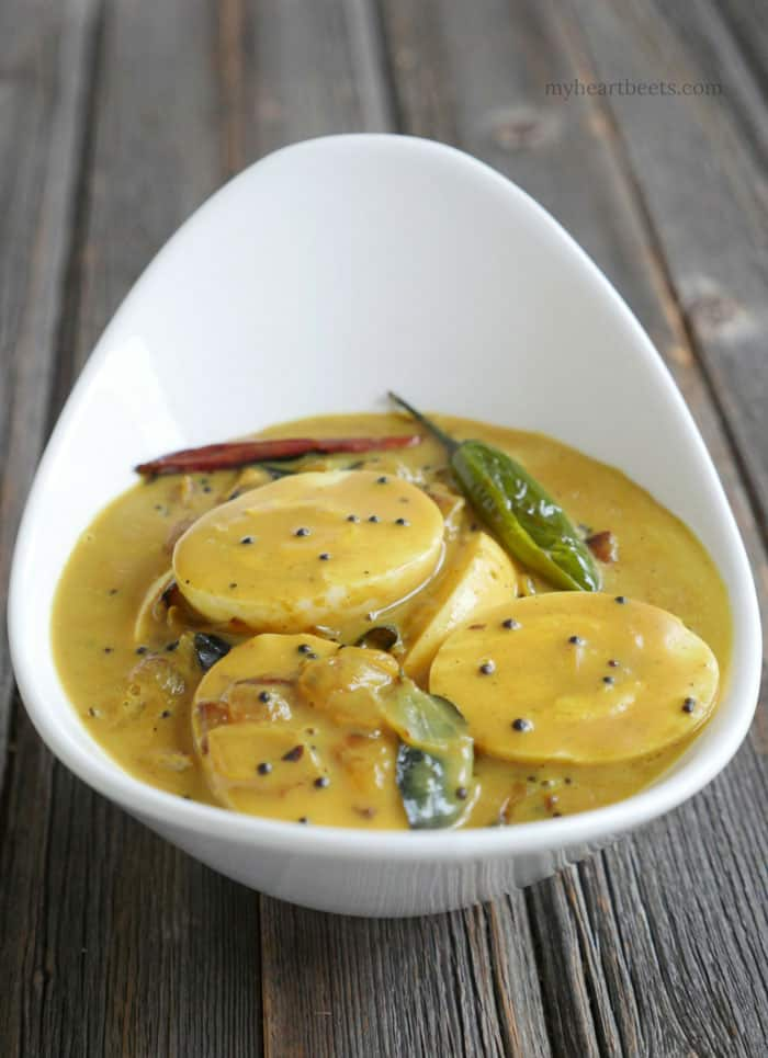 kerala coconut egg curry