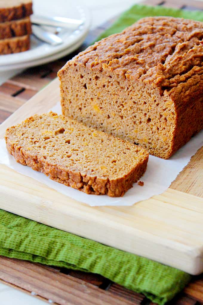 cinnamon spice sweet potato bread