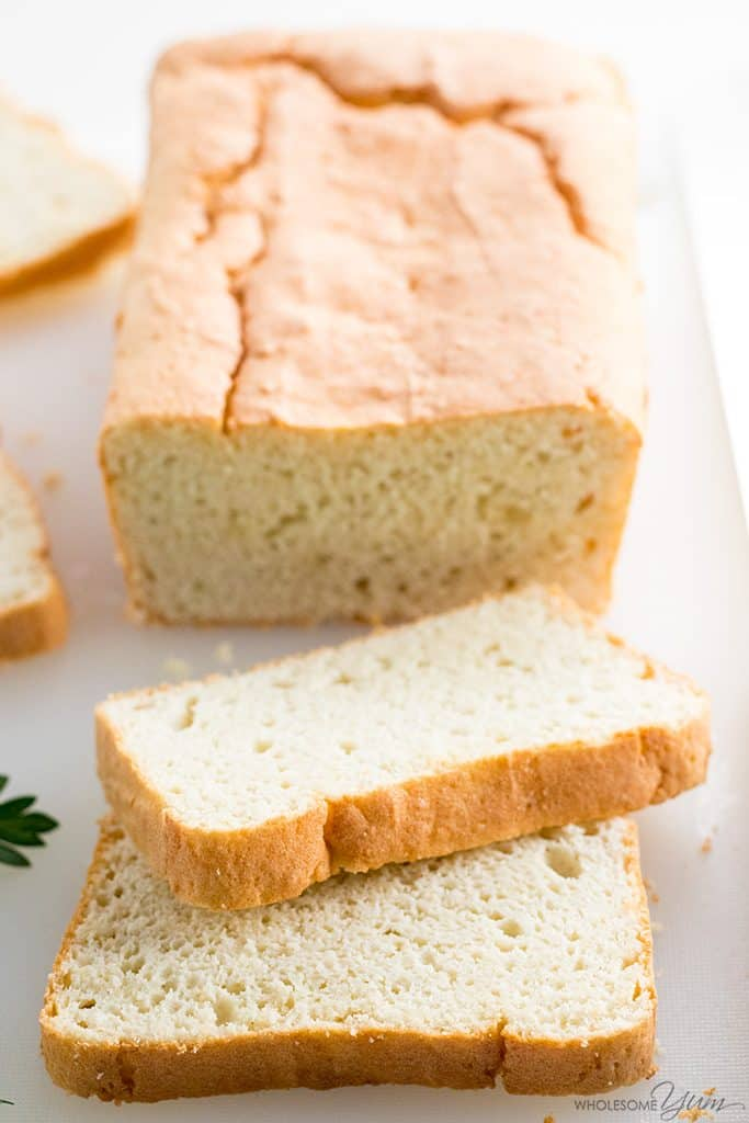 easy 5 ingredient keto bread