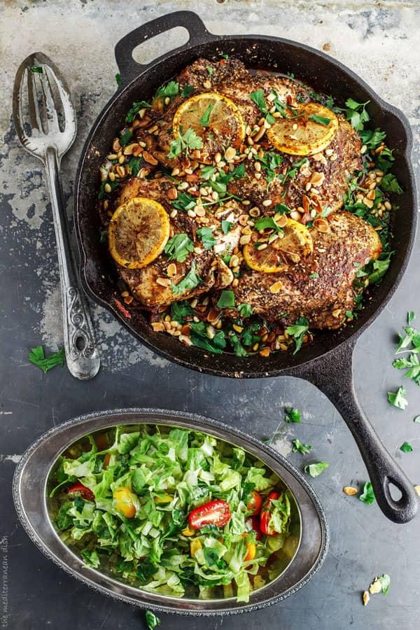 zaatar roasted chicken breast