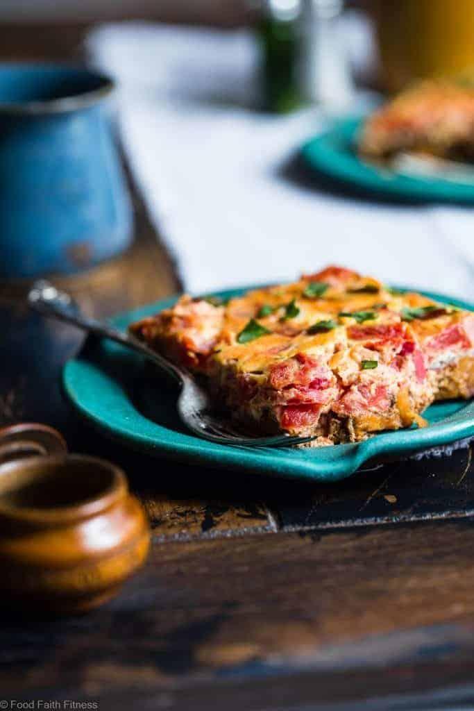 moroccan paleo breakfast casserole