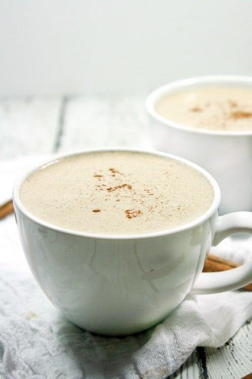 paleo cinnamon vanilla latte