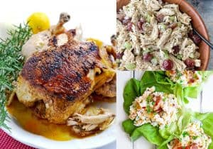 7 Keto Recipes with Rotisserie Chicken