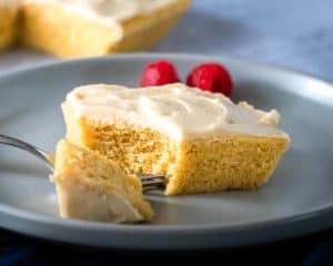3 Minute Microwave Keto Cake